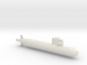 1/700 Type 091 Submarine in White Strong & Flexible