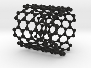 NanoTube Napkin Ring in Black Strong & Flexible