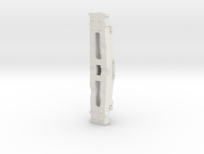 F117 Truck Bolster (CI) - 1-8th Scale-BGO in White Strong & Flexible