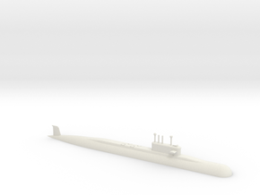 1/700 Arihant Class Submarine (Waterline) in White Strong & Flexible