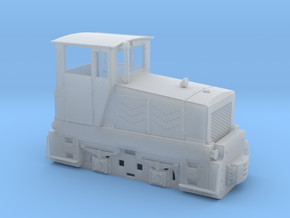 Tschechische Feldbahnlok Poldi DH120 Spur 0e/f 1:4 in Frosted Ultra Detail