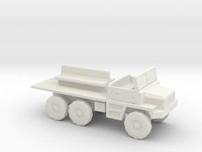 1:200 Berliet Gazelle GBC 8 in White Strong & Flexible