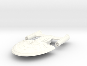 USS Xiang in White Strong & Flexible Polished