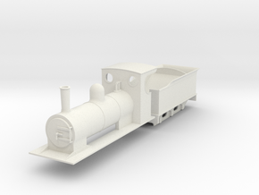 009 colonial loco and tender  in White Strong & Flexible