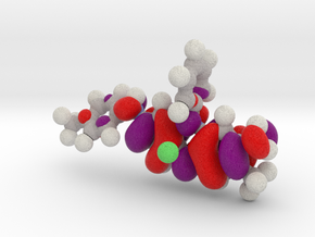 Mauveine LUMO molecular orbital in Full Color Sandstone