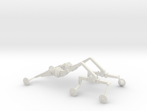 Mars Rover Suspension Arm Pair in White Strong & Flexible