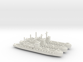 LCI(R) 1/700 Scale 3 Off in White Strong & Flexible