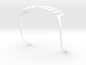 WAWE GLASSES in White Strong & Flexible Polished