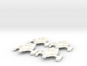 Dominion Attack Wing in White Strong & Flexible Polished