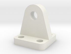 Mounting Plate - Suitable for most scales in White Strong & Flexible