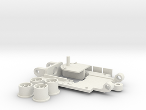 PDR Mini Chassis 43 V4 Standard in White Strong & Flexible