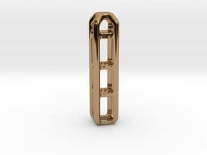 Tritium Lantern 4B (Silver/Brass/Plastic) in Polished Brass