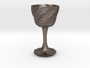 goblet long stem 3 in Stainless Steel