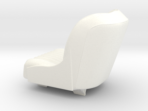 1 8 1960s Sport Seat in White Strong & Flexible Polished