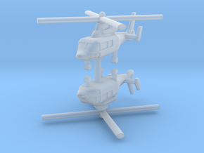 1/700 Eurocopter AS365 Dauphin (x2) in Frosted Ultra Detail