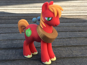 My Little Pony - Big Mcintosh in Full Color Sandstone