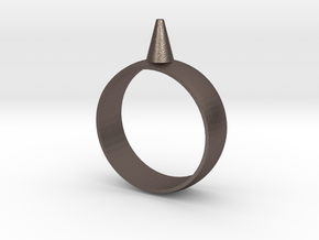 11.5 223-Designs Bullet Button Ring Size  in Stainless Steel