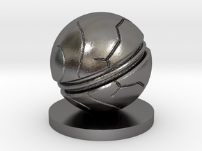 Slaughterball ball in Polished Nickel Steel