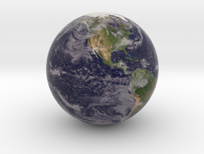 Cloudy Earth Marble 1