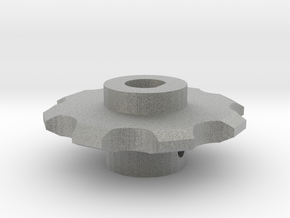 Stepper Sprocket in Metallic Plastic
