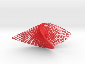 Pendant (Enneper) in Red Strong & Flexible Polished