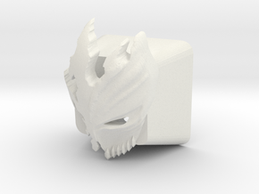 Cherry MX Kurosaki Mask Keycap in White Strong & Flexible