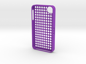 iPhone 4s daaa in Purple Strong & Flexible Polished