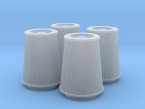 1/25 K&N Cone Style Air Filters TDR 5167 in Frosted Ultra Detail