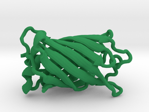 Green Fluorescent Protein in Green Strong & Flexible Polished