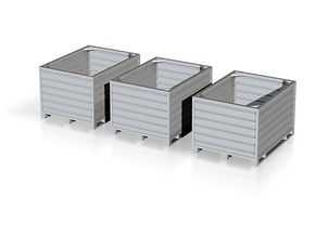 H0 1:87 Container-Box in Frosted Ultra Detail