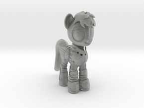 Pony SciFi Armor in Metallic Plastic