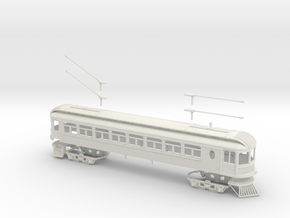 #64-6101 - Ohio Electric Combine S scale Kit in White Strong & Flexible