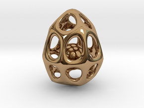 Dragon Egg in Polished Brass