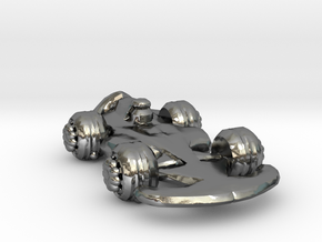 Formula1 Car Own Design in Polished Silver