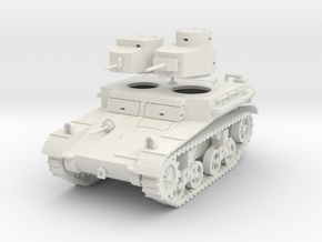 """PV42 M2A2 """"Mae West"""" Light Tank (1/48) in White Strong & Flexible"""