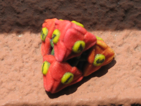 Flower D4 (Small) in Full Color Sandstone