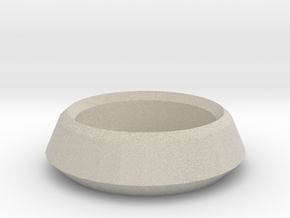Tea Light Candle Holder in Sandstone