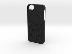 \m/ Iphone 5s case in Black Strong & Flexible