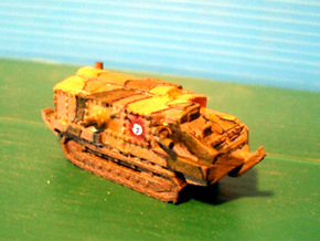 1/100 Schneider tank CA-1 in White Strong & Flexible