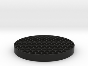 Honeycomb KillFlash 48mm Diam 5mm height 4 mm diag in Black Strong & Flexible