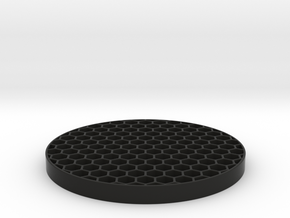 Honeycomb KillFlash 48mm 4mm height 4 mm diag clea in Black Strong & Flexible
