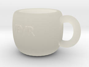 #YR Mug in Transparent Acrylic