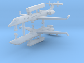 1/700 Embraer R-99 (EMB 145 Erieye) AEW&C (x2) in Frosted Ultra Detail