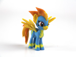 My Little Pony - Spitfire (�70mm tall) in Full Color Sandstone