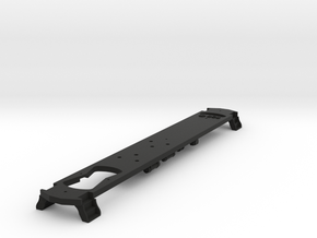 HO Scale L&WV FRAME for Long Cars in Black Strong & Flexible