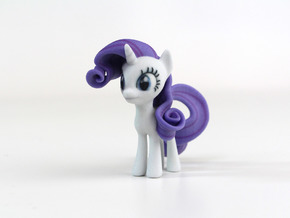 My Little Pony - Rarity (≈65mm tall) in Full Color Sandstone