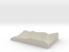 Model of Fish Lake in Sandstone