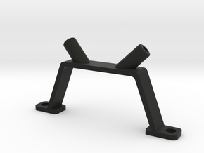 V-shaped antenna mount.  in Black Strong & Flexible