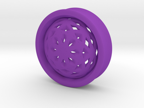 VORTEX2-37mm in Purple Strong & Flexible Polished