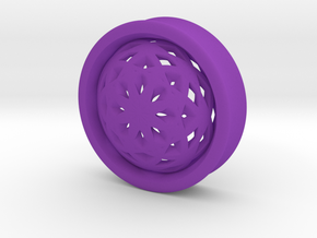 VORTEX2-38mm in Purple Strong & Flexible Polished